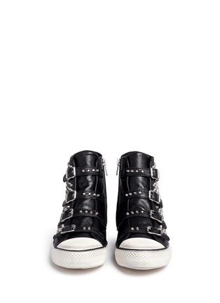 Figure View - Click To Enlarge - Ash - 'Vicious' stud leather sneakers
