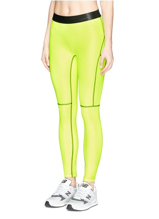 Front View - Click To Enlarge - Monreal London - 'Booty Boost' leggings
