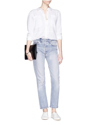 Figure View - Click To Enlarge - RE/DONE - 'The High Rise' skinny jeans