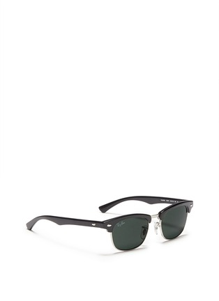 Figure View - Click To Enlarge - Ray-Ban - 'Clubmaster Junior' browline sunglasses