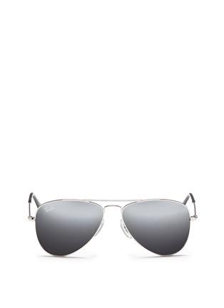 首图 - 点击放大 - RAY-BAN - 'Aviator Junior' metal sunglasses