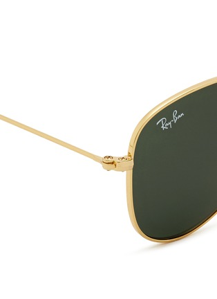 Detail View - Click To Enlarge - Ray-Ban - 'Aviator Junior' metal frame sunglasses