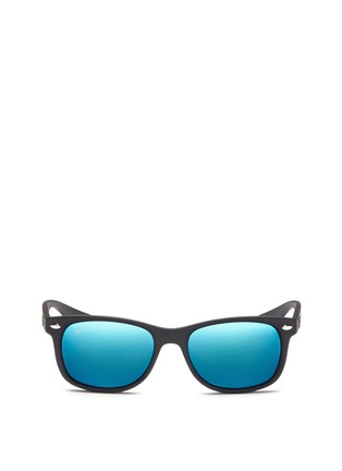 Ray-Ban-'New Wayfarer Junior' plastic mirror sunglasses