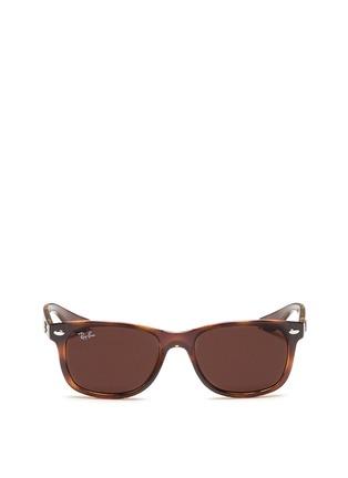 首图 - 点击放大 - RAY-BAN - 'New Wayfarer Junior' plastic sunglasses