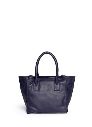 Back View - Click To Enlarge - See by Chloé - 'Nellie' small perforated front leather tote