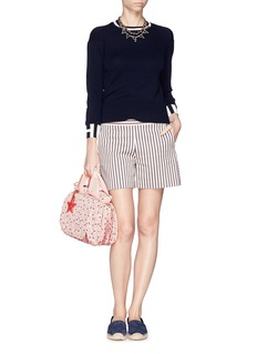 SEE BY CHLOÉ 'Joy Rider' small strawberry print nylon bag