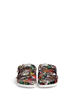 ASH'Takoon' floral print leather sandals