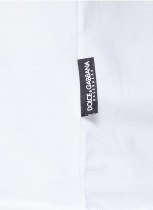 Detail View - Click To Enlarge - Dolce & Gabbana - 'Pure' stretch cotton undershirt