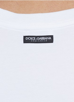 Detail View - Click To Enlarge - Dolce & Gabbana - 'Day by Day' tank undershirt 2-pack set