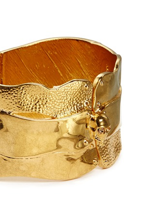 Detail View - Click To Enlarge - Alexander McQueen - Puzzle skull cuff
