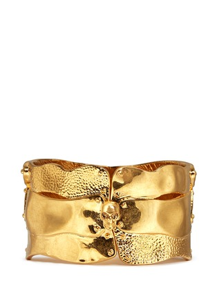 Main View - Click To Enlarge - Alexander McQueen - Puzzle skull cuff