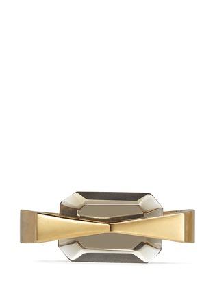 Alexander McQueen-Bridge glass stone bracelet