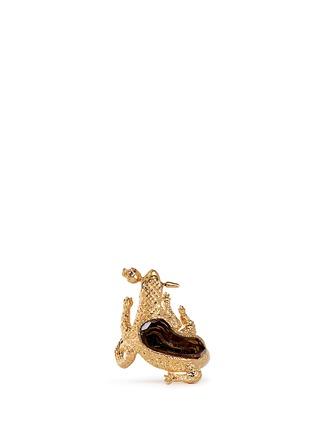 首图 - 点击放大 - ALEXANDER MCQUEEN - Salamander rock crystal ring