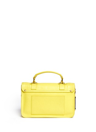 Back View - Click To Enlarge - Proenza Schouler - 'PS1' tiny leather satchel