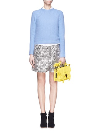Figure View - Click To Enlarge - Proenza Schouler - 'PS1' tiny leather satchel
