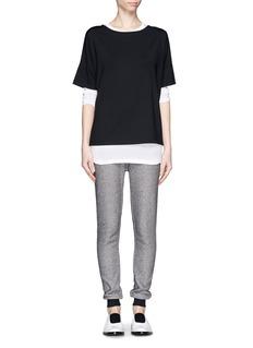 T BY ALEXANDER WANGClassic pocket long-sleeve T-shirt