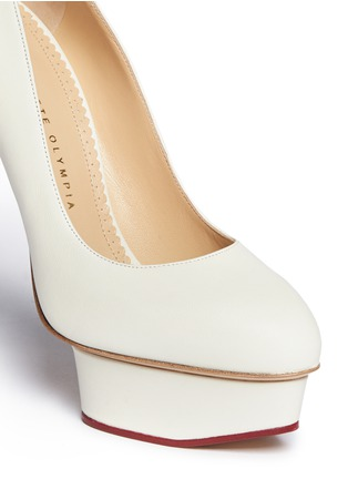 Detail View - Click To Enlarge - Charlotte Olympia - 'Mistress Dolly' platform pumps