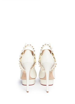 Back View - Click To Enlarge - Charlotte Olympia - 'Mistress Dolly' platform pumps
