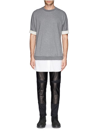 Figure View - Click To Enlarge - 3.1 Phillip Lim - Shirt tail sweatshirt