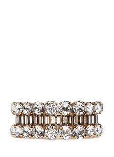ERICKSON BEAMON'Temptress' crystal bracelet