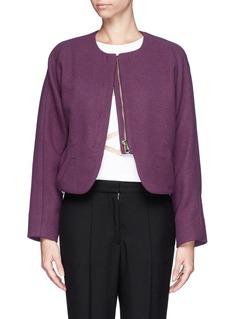 CHLOÉCropped wool jacket