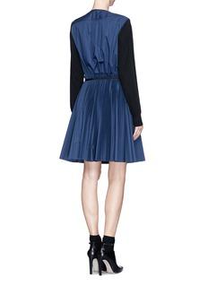 SACAIChain neck wool sweater-dress