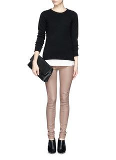 HELMUT LANGLamb leather leggings