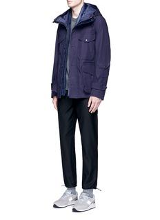 NanamicaHooded GORE-TEX® cotton coat