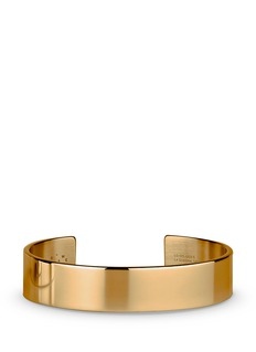 Le Gramme 'Le 41 Grammes' polished 18k yellow gold cuff