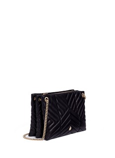 Lanvin 'Sugar' small chevron quilted leather chain shoulder bag