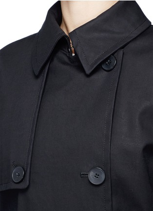 Detail View - Click To Enlarge - Dkny - Belted cotton midi trench coat