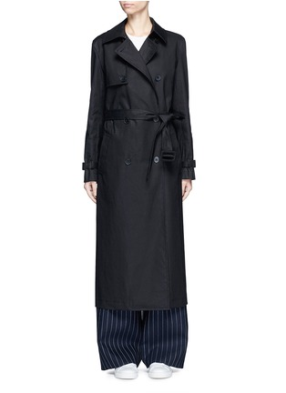 Main View - Click To Enlarge - Dkny - Belted cotton midi trench coat