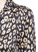 x Kate Moss 'Lake' leopard print pyjama top
