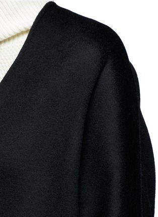 Detail View - Click To Enlarge - Vince - Reversible wool-cashmere cardigan coat