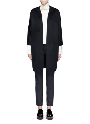 Main View - Click To Enlarge - Vince - Reversible wool-cashmere cardigan coat