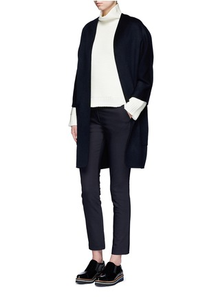 Figure View - Click To Enlarge - Vince - Reversible wool-cashmere cardigan coat