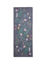 'Fallen Flowers' silk georgette scarf