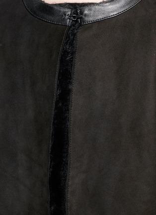 KARL DONOGHUE-Reversible Alpine lambskin shearling gilet