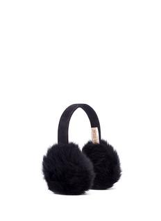KARL DONOGHUELambskin shearling suede band ear muffs