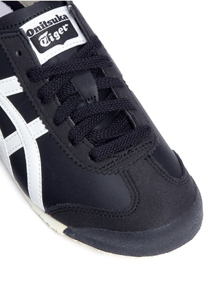 Detail View - Click To Enlarge - Onitsuka Tiger - 'Mexico 66 PS' stripe leather kids sneakers