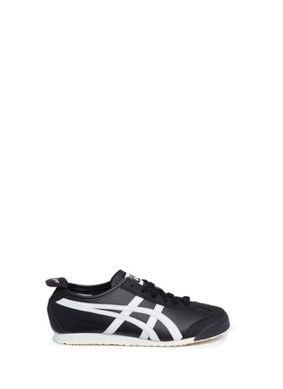 Main View - Click To Enlarge - Onitsuka Tiger - 'Mexico 66 PS' stripe leather kids sneakers