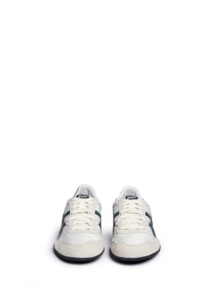 Front View - Click To Enlarge - Onitsuka Tiger - 'Serrano' stripe ripstop sneakers