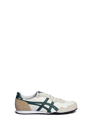 Main View - Click To Enlarge - Onitsuka Tiger - 'Serrano' stripe ripstop sneakers