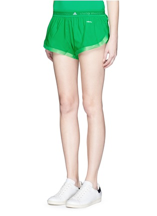 Front View - Click To Enlarge - Adidas By Stella Mccartney - 'Adizero' ClimaLite run shorts