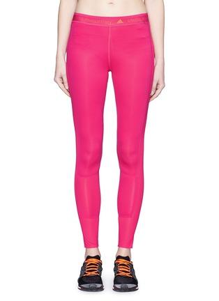 Main View - Click To Enlarge - Adidas By Stella Mccartney - 'Adizero' Climacool run tights