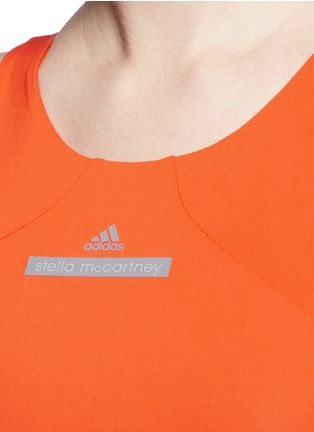 Detail View - Click To Enlarge - Adidas By Stella Mccartney - ClimaChill cropped top