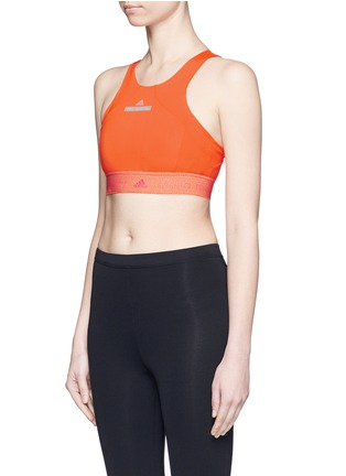Front View - Click To Enlarge - Adidas By Stella Mccartney - ClimaChill cropped top