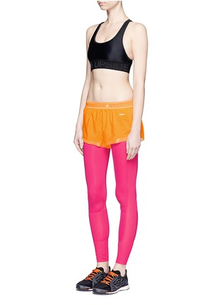 Figure View - Click To Enlarge - Adidas By Stella Mccartney - Adizero run shorts