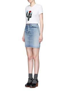 MARKUS LUPFER'Cactus 3D' embellished Kate T-shirt