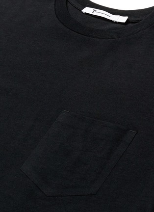 Detail View - Click To Enlarge - T By Alexander Wang - Side split hem T-shirt